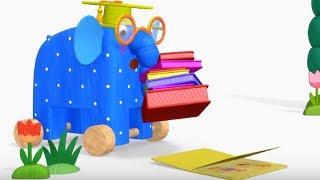 Деревяшки - Книжки- развивающие мультфильмы для самых маленьких 0-4 HD