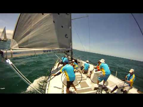 CSC and RMYC Combined 2 race Windward Leeward Race Day
