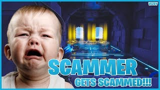 Psycho Scammer Tries To Scam My Inventory!!! (Scammer Gets Scammed) Fortnite Save The World