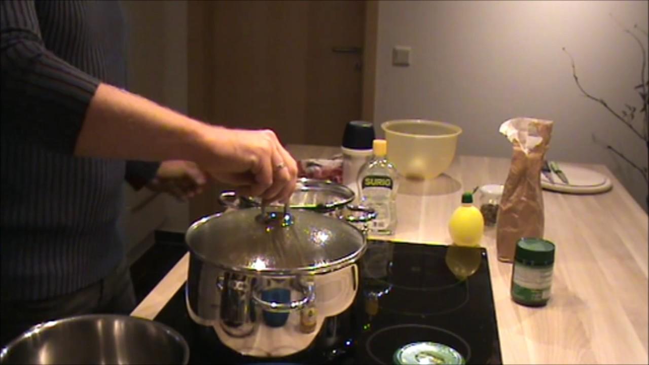 Saure Zipfel - Saure Bratwürste - hausgemacht - YouTube