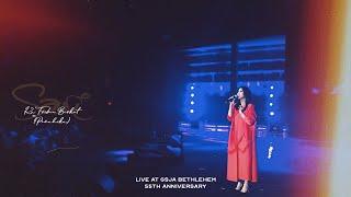 Sari Simorangkir - Ku T'rima Berkat (Penuhiku) | Live At GSJA Bethlehem 55th Anniversary