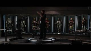 iron man 3 movie suit up scene