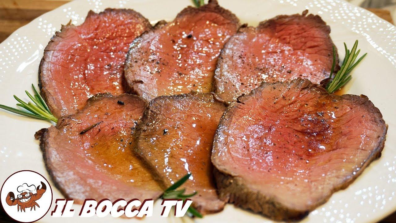 593 Roast Beef Alla Bocca Se Dormi Non Ti Tocca Secondo Di Carne Tipico Gustoso E Facile Youtube