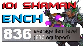 Shaklyn - Level 101 Enhancement Shaman Twink PvP - Legion Patch 7.2