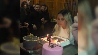 Gloria Camila celebra su cumpleaños por todo lo alto