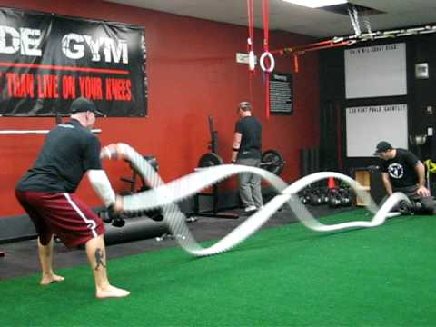 Battle Ropes For Sale >> Battling Ropes Of Death Youtube