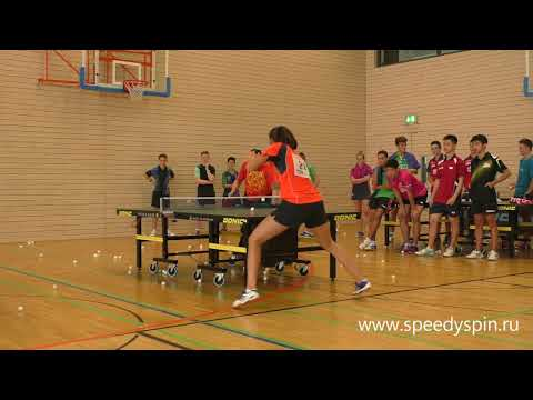 Table tennis technics training with Li Xiaodong, part two .FHD