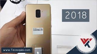 نظرة اولى على هاتفي ( A8 + A8 Plus ) نسخة 2018 ، من معارض سامسونج | كفو يا سامسونج