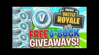 FORTNITE LIVE/ VBUCK GIVEAWAY TODAY/ SUB TO ENTER/ LETS GET SOME DUBS