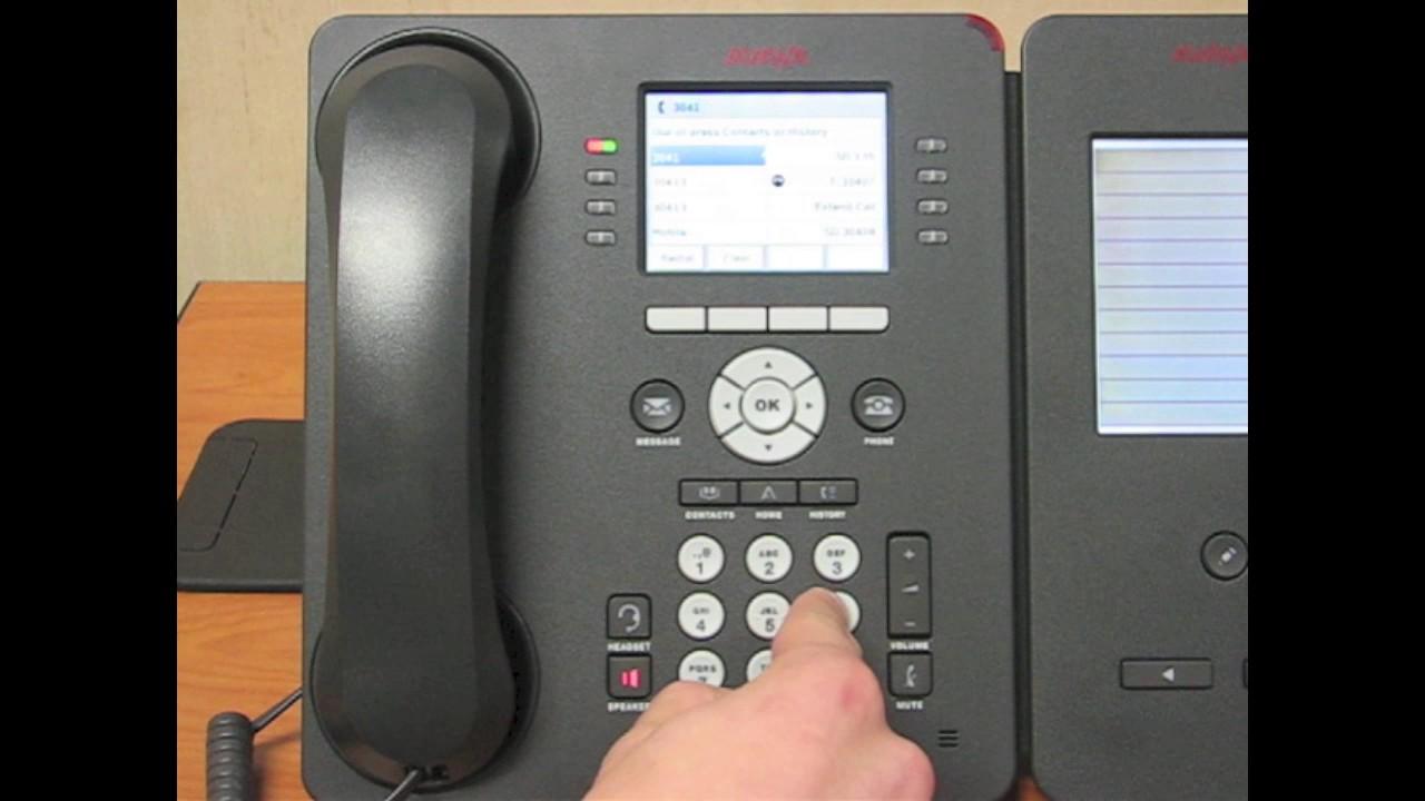 The Avaya 9611g Basic Phone Guide