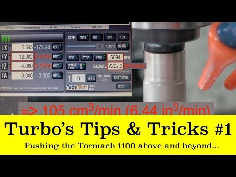 Tips & Tricks #1: Tormach 1100 and PathPilot above and beyond