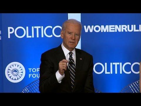 "Joe Biden: Report that CIA misled about its torture tactics a ""badge of honor"""