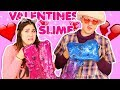 GIANT VALENTINES SLIME WITH MY GRANDMA | SLIME DISASTER! Slimeatory #286