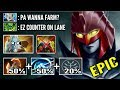 EPIC 120% Cleave Damage PA Counter PL Crazy Pressure in Lane Most Crazy Combo Build WTF Dota 2