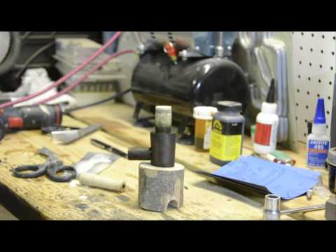 Drilling and Shaping a Tobacco Smoking Pipe - Part Two of Two