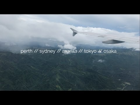 travel diary // australia, japan, philippines