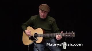 The Martin 00LX1AE at Maury's Music