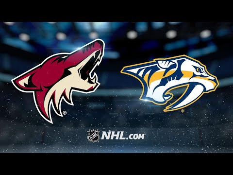 Ellis, Smith lead Predators to SO win against Coyotes