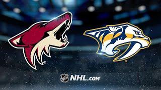 Ellis, Smith lead Predators to SO win against Coyotes