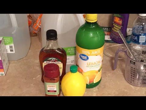 LEMONADE Master CLEANSE/DETOX (How To