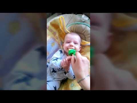 Влог. 4 месяца ребенок. Ввод прикорма и докорма.