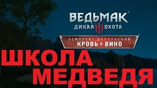 Ведьмак 3 Кровь и Вино Гроссмейстерский комплект школы медведя