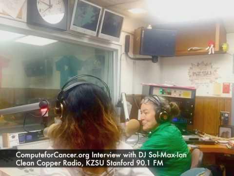ComputeforCancer.Org Interview with KZSU Stanford 90.1 FM