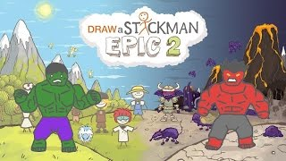 - SUPER HEROES DRAW A STICKMAN EPIC 2 Gameplay Marvel Tiny Green Hulk vs Red Hulk Amazing Ending