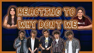 REACTING TO: WHY DON'T WE | I DON'T BELONG IN THIS CLUB, COLD IN LA, BIG PLANS, & 8 LETTERS MP3