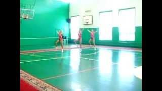 Художественная гимнастика в аэробике. Rhythmic gymnastics