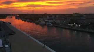 Porto Garibaldi - Time Lapse sul Porto Canale