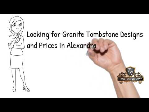 Alexandra Cemetery  Granite Tombstone Designs And Prices -  Download Free Catalogue