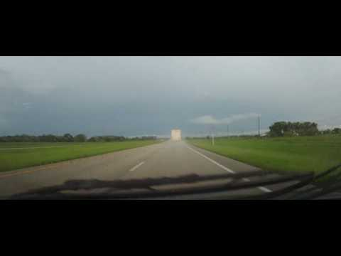Driving on Florida State Road 70 from Okeechobee to Fort Pierce