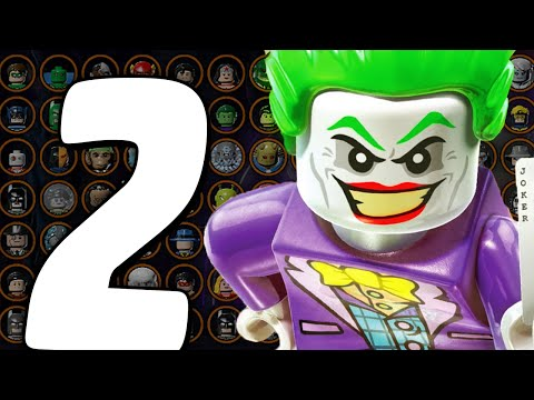 Все Персонажи - LEGO Batman 3: Beyond Gotham - Часть 2