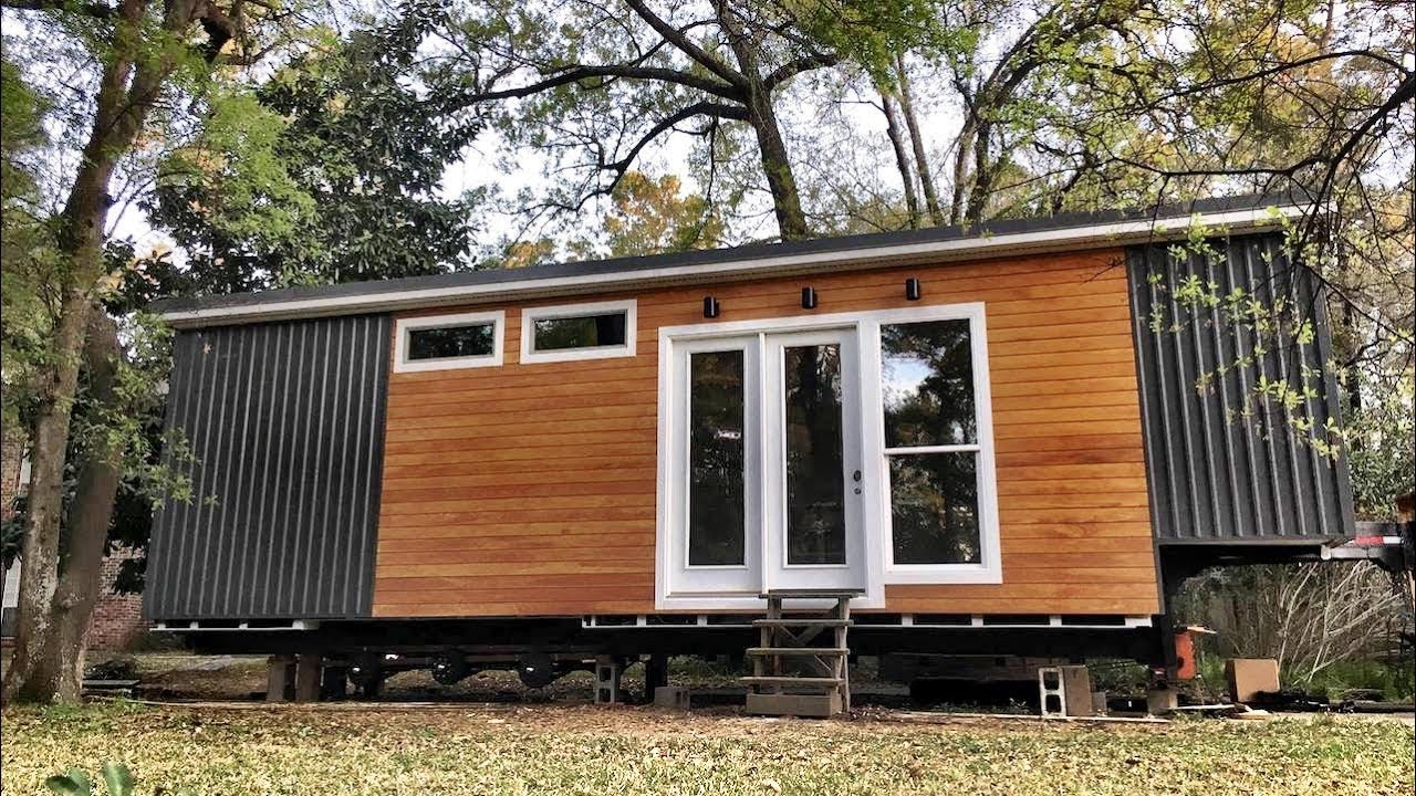 medium resolution of extra wide tiny house built for cooking and entertaining