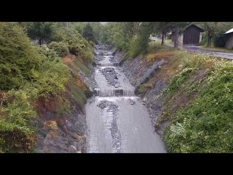 debris flow - 21 juillet 2017 - Crue torrentielle à Saint Julien Montdenis