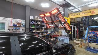쌍용자동차 체어맨 깨진 자동차유리교체, 앞유리교환 수리…