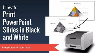 How to Print PowerPoint Slides in Black and White