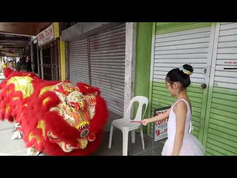 Chinese New Year Lion Dance at our store