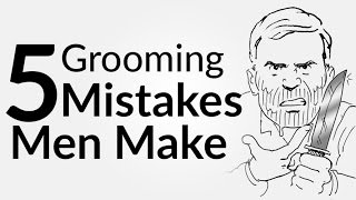 5 Grooming Mistakes Men Make | Men's Skin Shaving & Body Care | Hygiene Tips Look Attractive