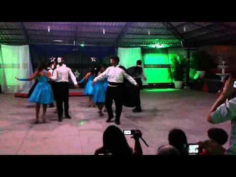 Fantasma da opera Alunos espaco de danca JessicaSkarlette - YouTube