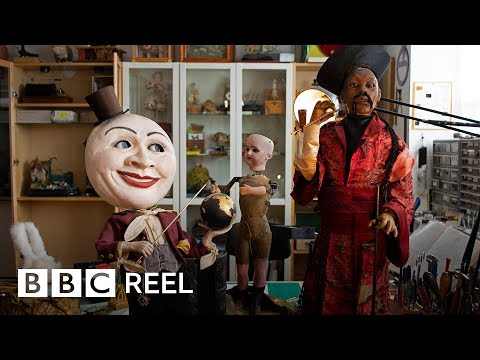 The strange dolls that come to life (360 video) – BBC REEL