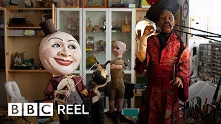 The strange dolls that come to life (360 video) - BBC REEL