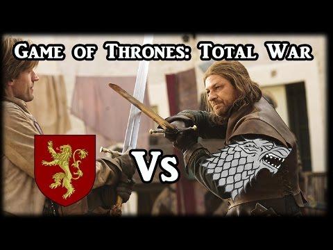 Game of Thrones Total War - Starks v Lannisters - (Rome 2 Mod)