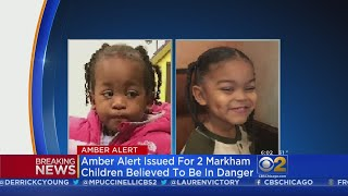 Amber Alert Issued For Two Markham Toddlers