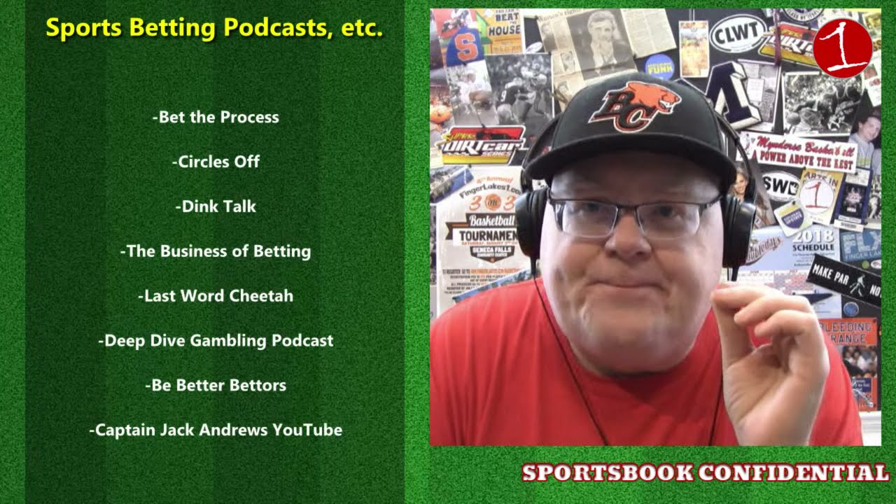 SPORTSBOOK CONFIDENTIAL: Sports Betting Media Review (podcast)
