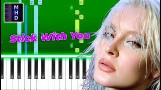 Zara Larsson - Stick With You (Piano Tutorial Easy)
