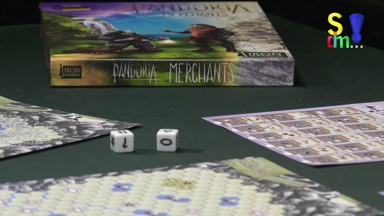 Spiel doch mal PANDORIA MERCHANTS! - Brettspiel Rezension Meinung Test #363