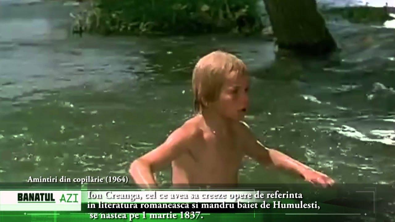 La Scăldat Ion Creanga Cel Ce Avea Sa Creeze Opere De Referinta In Literatura Romaneasca