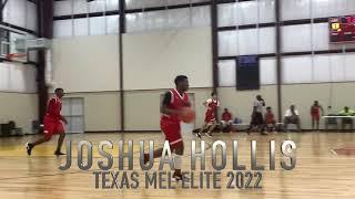 Joshua Hollis PG Texas Mel Elite 2022 5'11 (Enlightium Christian Academy) Memorial Day Classic